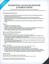 marketing manager resume manager skills resume marketing manager resume sample sales manager