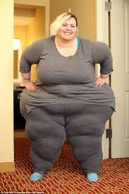 Obese American woman Bobbi-Jo Westley earns $2k a month from ...