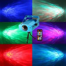 vcoidea 9 watt 7colors led projector light ocean wave projector confetti co