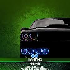 2014 Challenger Lights 2008 2014 Dodge Challenger Pre Built Flow Series Headlights