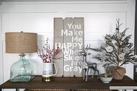 console table decor. Christmas-console-table-decorating Console Table Decor A