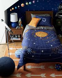 Space bedroom furniture Interior Space Themed Bedroom Bavariatourco Space Themed Bedroom Crate And Barrel