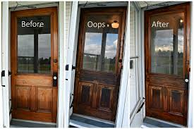 how to refinish front doorHow to Refinish A Wooden Front Door  The Space To Grow