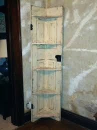 door shelf old door corner shelf old door corner shelf diy