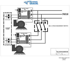 wiring diagrams phase quest inc phase quest inc homemade rotary phase converter drawings parallel rotary phase converter system