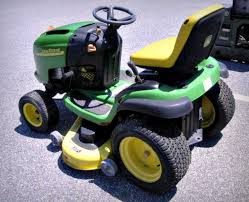 john deere l120 riding lawn mower on govliquidation perfect for your backyard