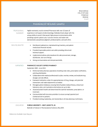 Pharmacist Resume Template Habilitation Technician Sample Resume