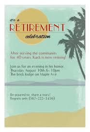 Retirement Invitations Free Its A Retirement Celebration Retirement Farewell Party