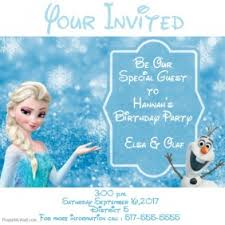 elsa birthday invitations customizable design templates for disney birthday postermywall