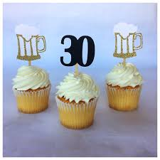 Cheers And Beers To 30 Years 30th Birthday Decoration 30th Etsy