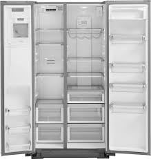 kitchenaid 22 7 cu ft side by side counter depth refrigerator silver krsc503ess best