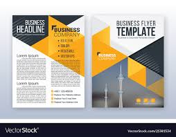 Annual Report Templates Free Download Modern Business Flyer Template Annual Report