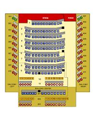 Dinner Theatre Seating Chart Desert Star Theaters