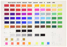 Japanese Colour Chart Us 59 9 Japanese Nicker Poster Color Water Color Paint Set For Design 12 Colors 18 Colors 24 Colors 36 Colors In Water Color From Office School