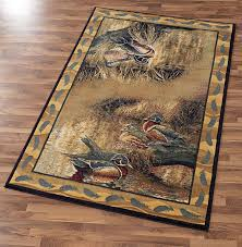 backwaters wood duck area rug collection wild wings
