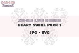 You can use our images for unlimited commercial purpose without asking permission. Single Line Design Hmong Svg Heart Swirl Pack 1 Jpg Sv 719084 Single Line Designs Design Bundles