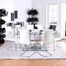 furniture of metal and glass dining table frame