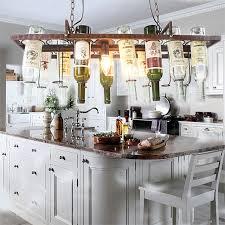 restaurant kitchen lighting. DIY Vintage Retro Hanging Wine Bottle Ceiling Pendant Lamps LED Light For Bar Dining Room Restaurant Kitchen Lighting
