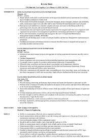 Maintenance Supervisor Resume Sample Facilities Maintenance Supervisor Resume Samples Velvet Jobs 2