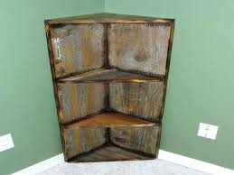 old barn wood home decor easy to place decorative corner shelf rustic shelves for