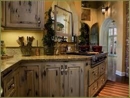 White Antique Kitchen Cabinets Distressed Kitchen Cabinets