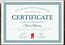 how to make a certificate of completion 50 multipurpose certificate templates and award designs for business