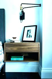wall mounted side tables wall mounted side table floating night table wall mounted bedside shelves