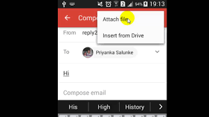 How To Send Attachment In Gmail Android App Youtube