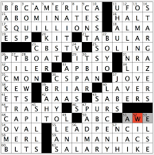 What Circles In A Venn Diagram Do Crossword Clue Rex Parker Does The Nyt Crossword Puzzle Old World