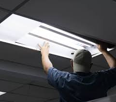 to convert fluorescent lighting to led