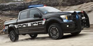 Ford creates 'pursuit-rated' F-150 police pickup truck