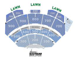 True Riverbend Seating Chart Limited View 2019