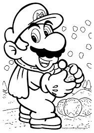 All of it in this site is free, so you can print them as many as you like. Free Printable Mario Coloring Pages For Kids Mario Coloring Pages Super Mario Coloring Pages Coloring Pages