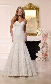 stella york fit and flare wedding gown 1 000 size 16 new un