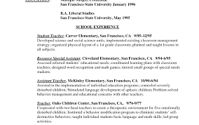 Teacher Resume Sample Elementary Teacher Resume Objective Writing