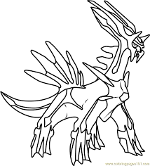 Small Picture Dialga Pokemon Coloring Page Free Pokmon Coloring Pages
