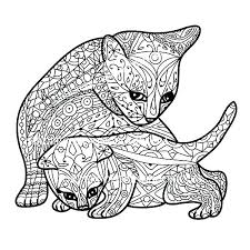 Cat Coloring Pages Free Printable At Getdrawingscom Free For