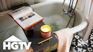 diy bathtub caddy with wine glass holder happy
