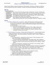 Quality Resume Samples Nice Qa Resume Examples With Ideas Collection Quality Assurance 31