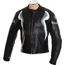 bmw motorrad sports pro leather motorbike jacket