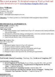 New Style Of Resume Sap Trainee Sample Resume