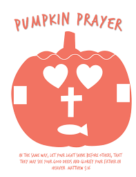 Christian Pumpkin Designs Pumpkin Prayer Poem Free Printbale Activity Object
