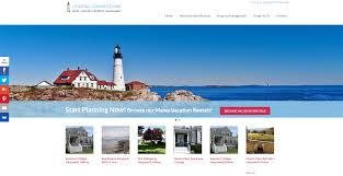 Maine Web Design Maine Coastal Connections Seaside Web Design