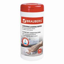 <b>Brauberg Салфетки</b> влажные для глубокой очистки поверхностей ...