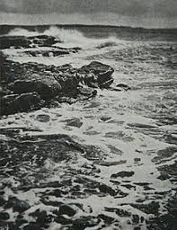 alfred lord tennyson  break break break on thy cold gray stones o sea a photograph by rudolf eickemeyer jr the title is a quote from the 1842 poem