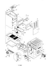 Gas furnace parts diagram partssears partsdirect part