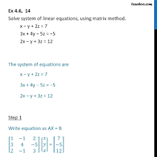 solving system of equations with matrices math how to solve linear systems using elimination lesson transcript solve system of equations matrix