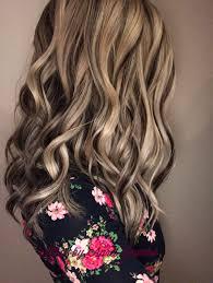 Platinum Blonde With Dark Chocolate Lowlights