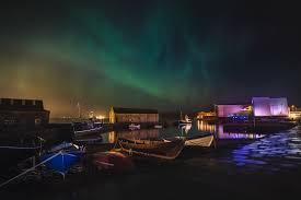 Northern Lights Camping And Caravan Park Northern Lights Shetland Org