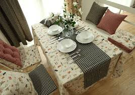new arrival european british style top grade cotton linen table cloth dining table linen table